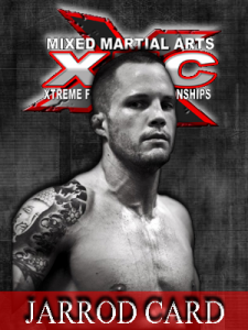 XFC Fighter Jarrod Card | officialxfc.com/jarrod-card