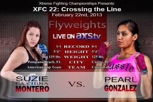 XFC 22 Suzie Montero vs Gonzalez Live on AXStv | officialxfc.com/xfc22