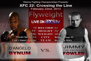 XFC 22 Bynum vs Fowler Live on AXStv | officialxfc.com/xfc22