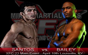 Luis Santos vs Shamar Bailey at XFC 23 | officialxfc.com/xfc23