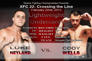XFC 22 Neyland vs Wells | officialxfc.com/xfc22