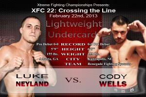 XFC 22 Neyland vs Wells | officialxfc.com/xfc22
