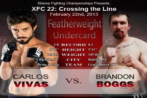 XFC 22 Vivas vs Boggs Undercard