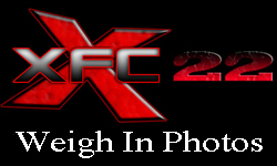 XFC22 weigh in photos