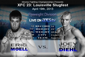 XFC 23 Eric Moell vs Joey Diehl Live on Axstv | OfficialXFC.com/xfc23