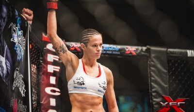 Stephanie Eggink at XFC 23
