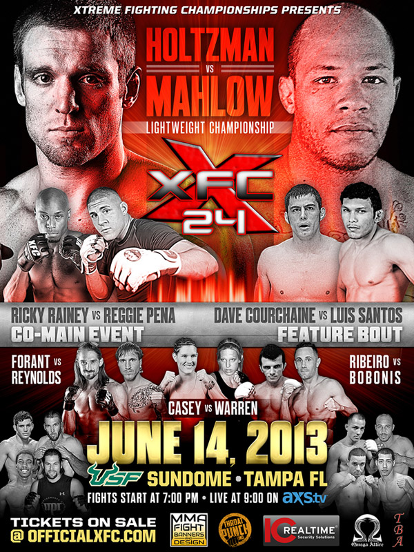 XFC 24: Collision Course - June 14th Tampa, FL | Live on AXS TV