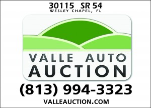 Valle Auto Auction - Wesley Chapel, FL - ValleAutoAuction.com