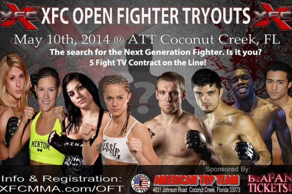 XFC Open Fighter Tryouts May 2014 | 5 Fight Contract on the Line