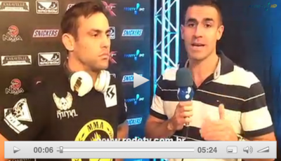 Thiago Meller Interview on REDE TV