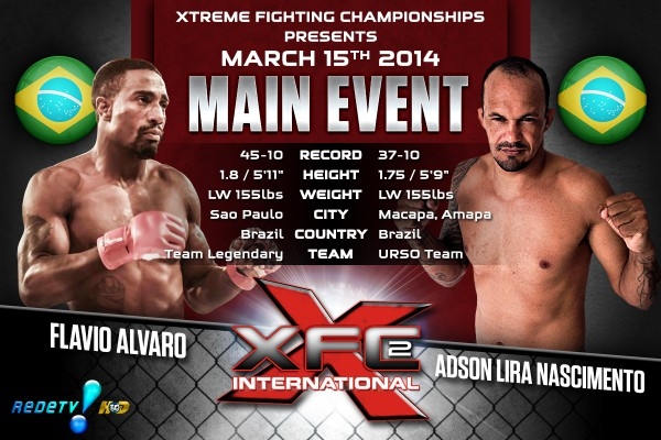 XFCi2: March 15th - Tale of the Tape - Lira vs. Alvaro