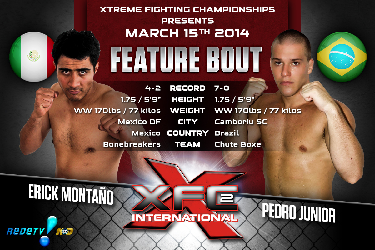 XFCi2: March 15th - Tale of the Tape - Montano vs. Junior
