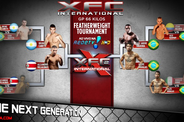 XFCi Featherweight Tournament Semi-Finals Bracket