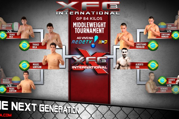 XFCi Season 1 Middleweight Tournament Semifinals
